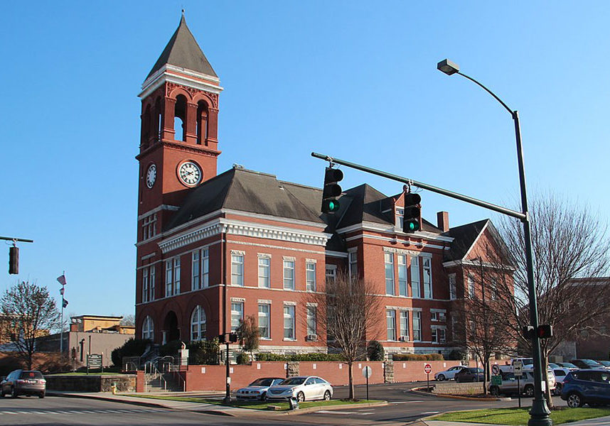 Historic Floyd County Courthouse